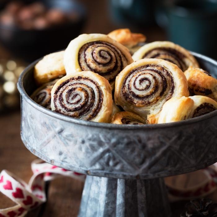 Olive Pastry Swirls