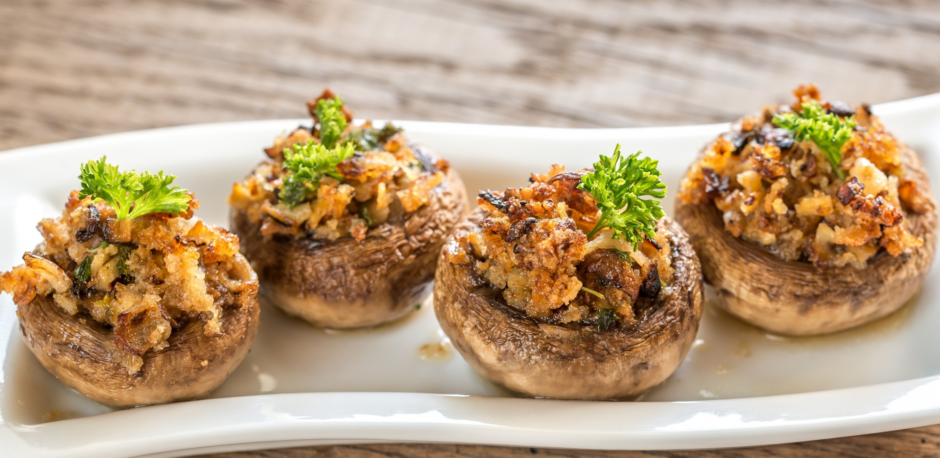 Smoky Mushroom and Walnut Portobello