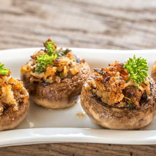 Smoky Mushroom and Walnut Portobello Mushroom