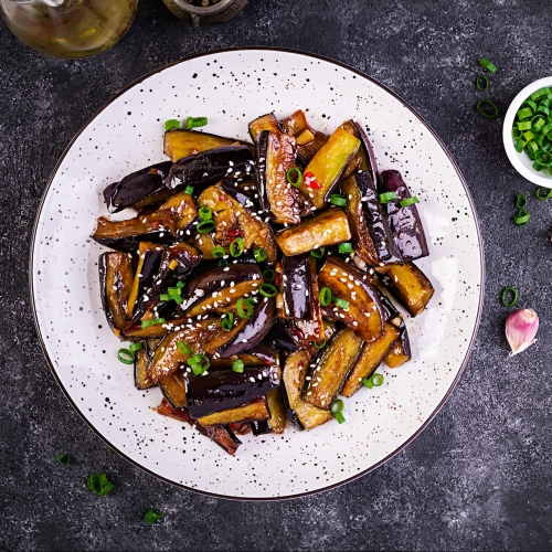 Sweet and Sour Aubergine