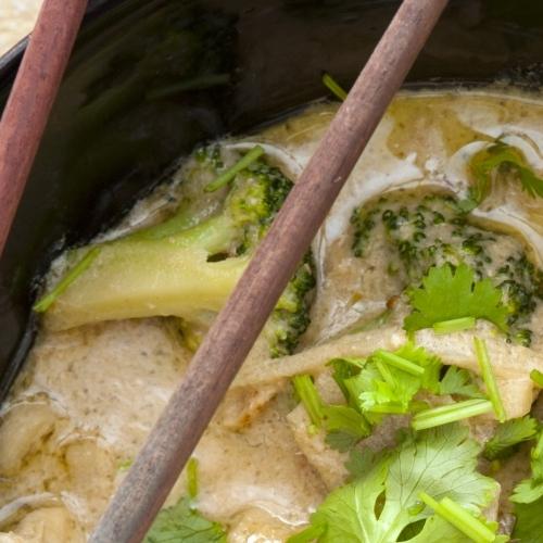 Thai Spiced Chicken Broth