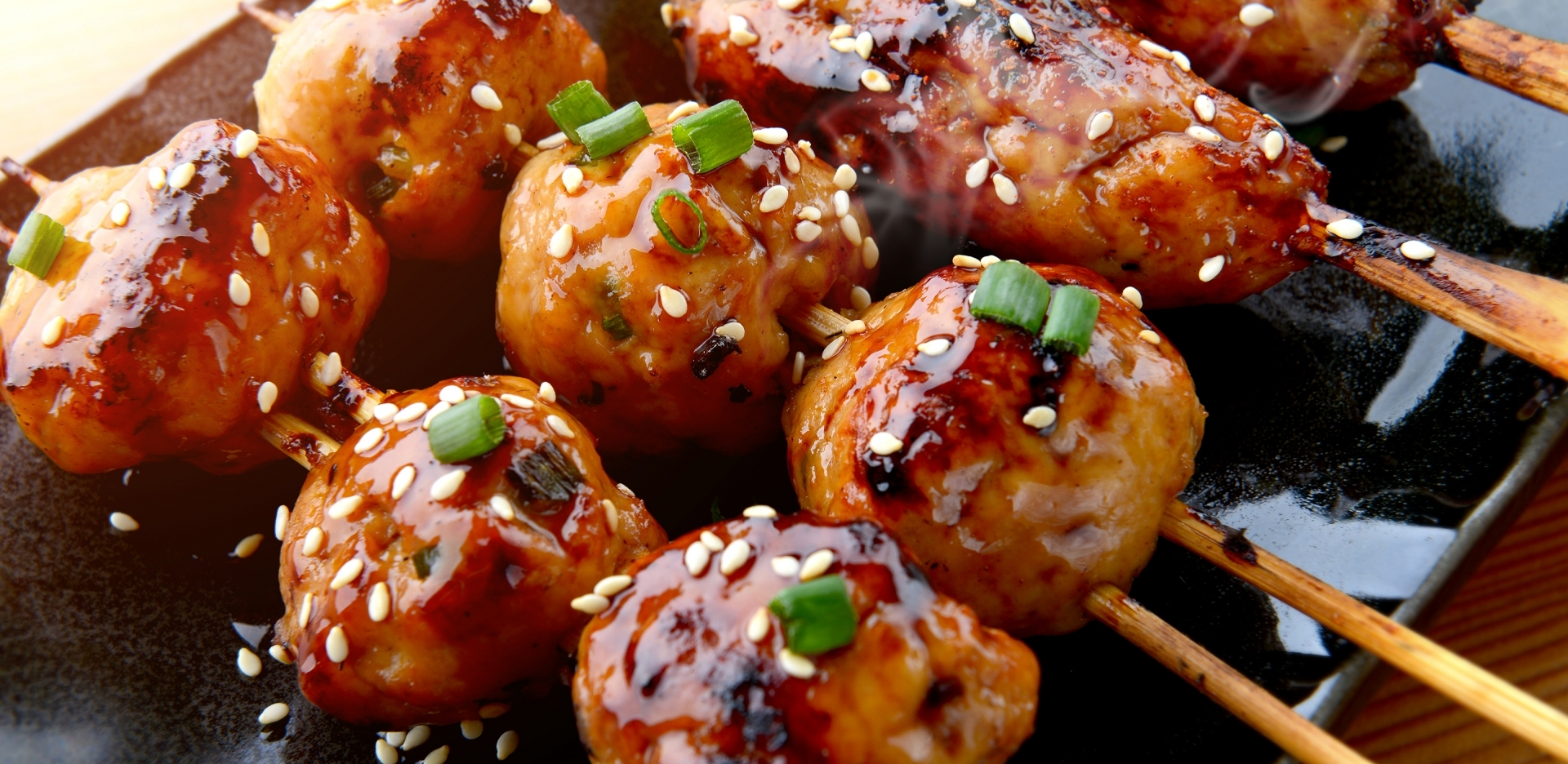 Tsukune (Chicken Meatballs)