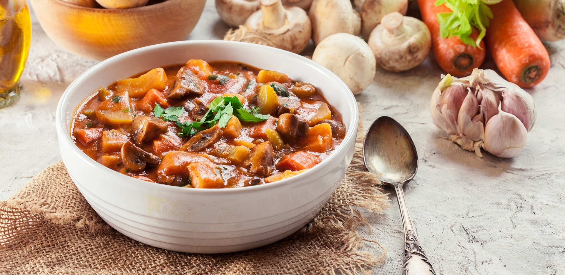 Vegan Beef Flavoured Stew