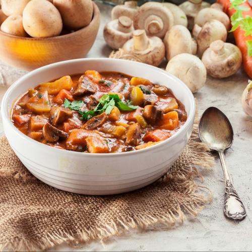 Vegan Beef Flavoured Stew