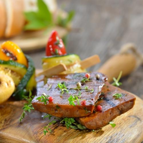 Vegan Lamb Seitan Steaks