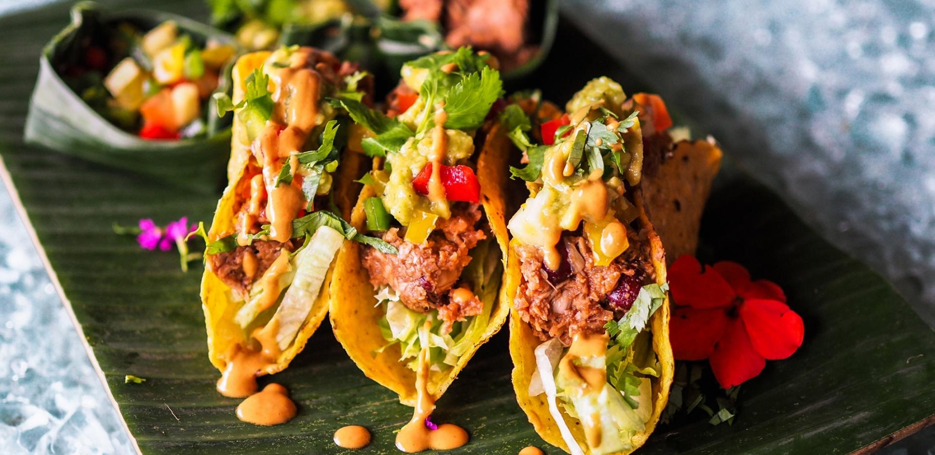 Vegan Mole Tacos
