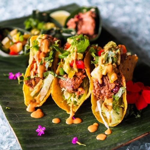Vegan Mole Taco