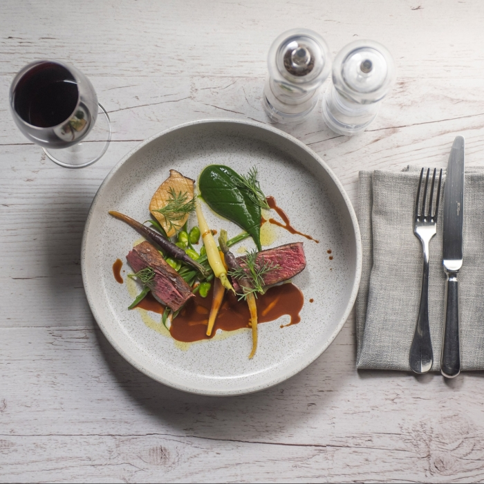Venison Fillet with Mexican Spiced Chocolate Sauce