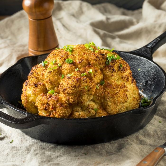 Whole Roasted Chermoula Cauliflower